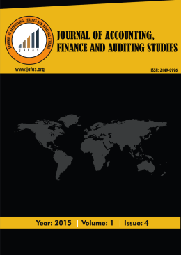 Untitled - Journal Of Accounting, Finance And Auditing Studies