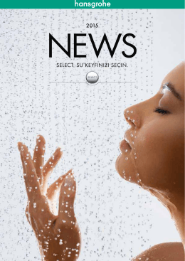 Hansgrohe NEWS 2015