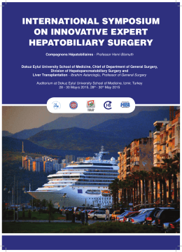 international symposium on innovative expert hepatobiliary surgery