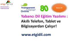 Tanıtım Türkçe