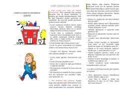 Rehberlik - Dobruca İlkokulu