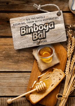 E-Katalog - Binboğa Bal