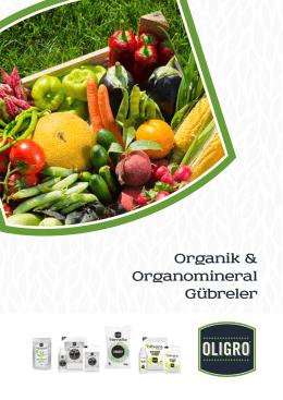 Organik & Organomineral Gübreler