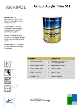 Akripol Acrylic Filler 511