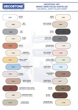 decofuga 1001 renkli derz dolgu kartelası colorful joınt