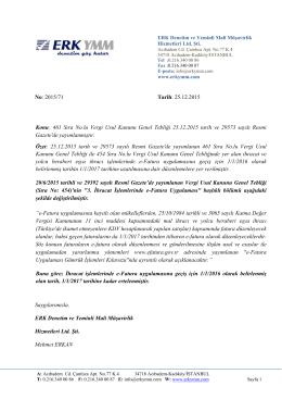 İhracat işlemlerinde e-Fatura uygulamasına geçiş 1/1/2017 tarihine
