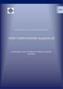 2015 Yılı Kamu Mali Beklentiler Programı