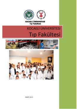 Genel Bilgiler ve Tarihçe - Kocaeli Üniversitesi Tıp Fakültesi