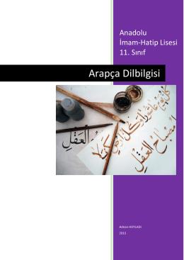 Anadolu İmam Hatip Liseleri 11. Sınıf Gramer Kitapcık İNDİR