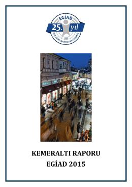 Kemeraltı Raporu