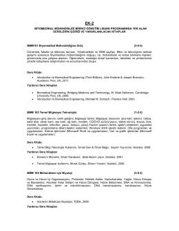 Ders İçerikleri - BEÜ - Fen Edebiyat Fakültesi