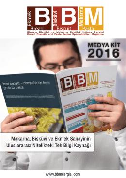 MEDYA KİT - Magazine BBM | Ekmek, Bisküvi ve Makarna Sektörü