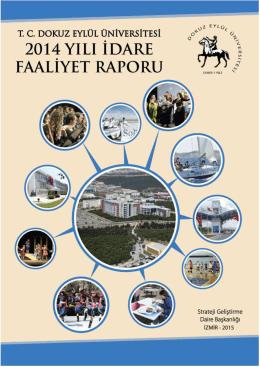 Dokuz Eylül Üniversitesi 2014 yılı İdare Faaliyet Raporu