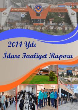 idare faaliyet raporu 2014