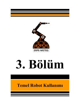 Temel Robot Kullanımı - Erpe
