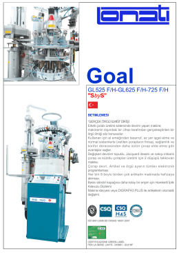 """GL525 F/H-GL625 F/H-725 F/H """"SbyS"""""""