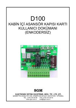 (enkodersiz) sgm