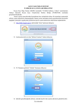 Koyun Keçi Bilgi Sistemi - AlbinaSoft Yönetim Sistemi