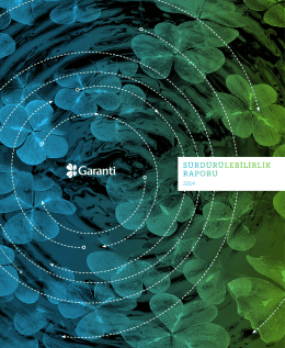 Sürdürülebilirlik Raporu 2014