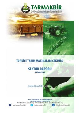 TARMAKBİR Sektör Raporu