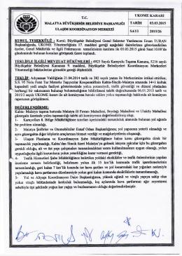 ukome kararı 2015-26