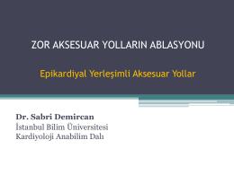 Sabri Demircan - 5. Atriyal Fibrilasyon Zirvesi