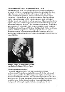 MİKROSKOP - Prof. Dr. Ural Akbulut