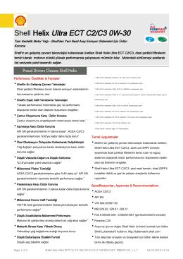Ürün Dokümanı - OMF Yardımcı Malzemeler