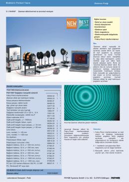 PHYWE Systeme GmbH & Co. KG · D-37070 Göttingen Laboratuvar