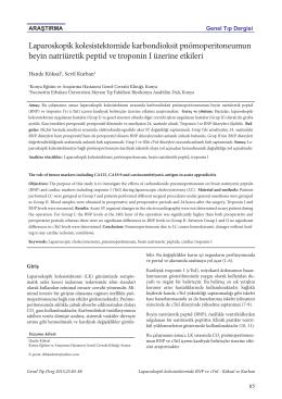 Laparoskopik kolesistektomide karbondioksit