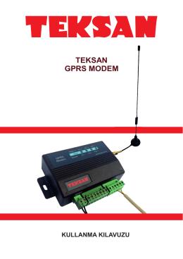 TEKSAN GPRS MODEM