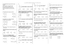 6. sınıf oran-orantı test-28