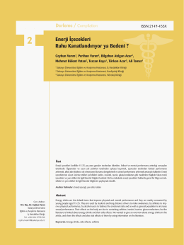 Yeni Boyut 2.indd - journal of human rhythm