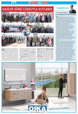 Sayfa 4 - Türkiye Kıbrıs Türk Cumhuriyeti İş Birliği Derneği