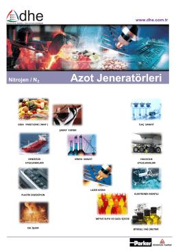 Azot jeneratörü - DHE Endüstriyel Basınçlı Hava ve Gaz Çözümleri