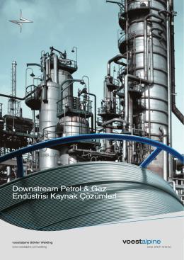 Downstream Petrol & Gaz Endüstrisi Kaynak