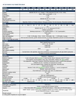 ıpc ds power 3 faz teknik özellikler