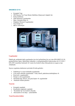 SINAMICS G110 - alp elektro market