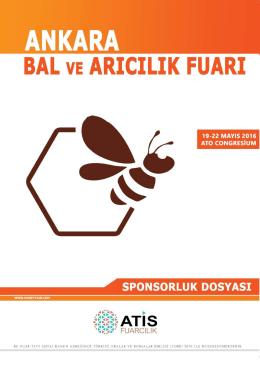 Sponsorluk Dosyası - Bal ve Arıcılık Fuarı