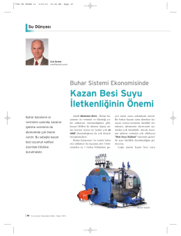 Kazan Besi Suyu - Burkut Su Tekniği
