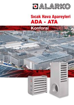 ADA - ATA - Alarko Carrier