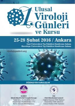 Viroloji 1.Günleri - 1. Ulusal Viroloji Günleri ve Kursu