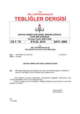 2696_Eylul_2015 - Tebliğler Dergisi