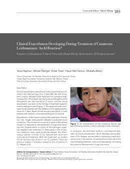 Full Text  - Türkiye Parazitoloji Dergisi