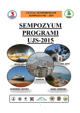 sempozyum programı ujs-2015