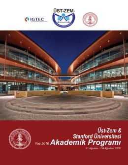 Akademik Programı - Üstün Zekalılar Merkezi