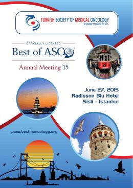 June 27, 2015 Radisson Blu Hotel Sisli - Istanbul