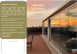 Intelroof polikarbonat çatılar