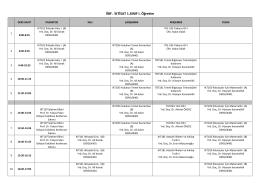 2015-2016 yılı Güz dönemi İktisat Bölümü Lisans Ders Programı