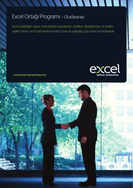 Excel Ortağı Program Broşürü - Excel